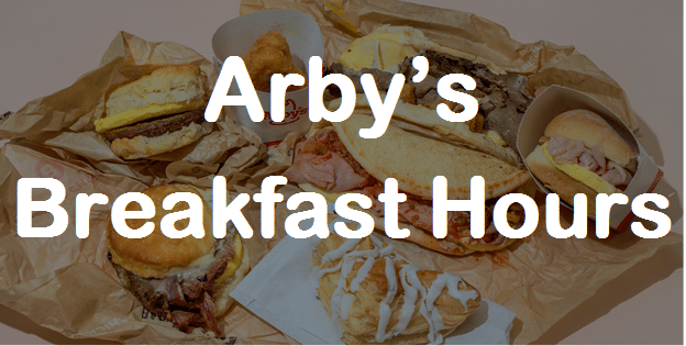 Breakfast Hours Arby's