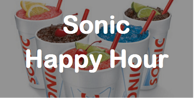 Happy Hour Sonic